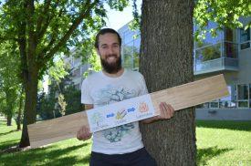Charles Breton, étudiant MSc, Génie du bois